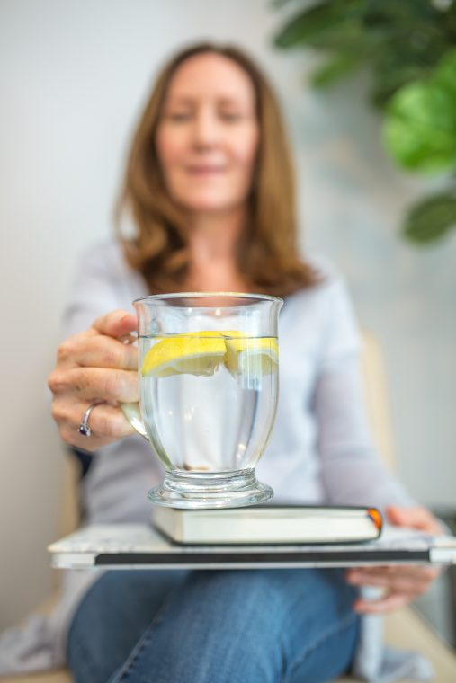 Stacey Crew Wellness Lemon Water