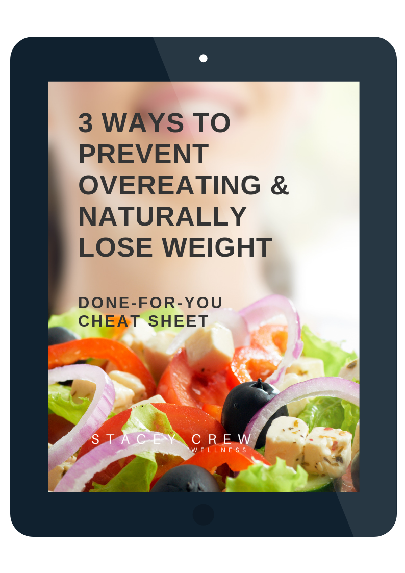 3 Keys to Prevent Overeating & Lose Weight